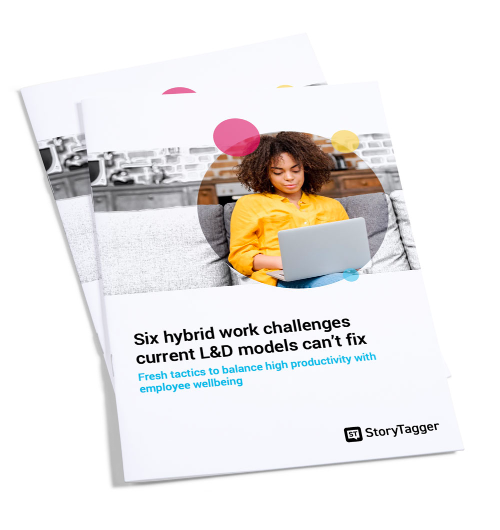 FREE GUIDE Six hybrid work challenges existing L&D models can't fix